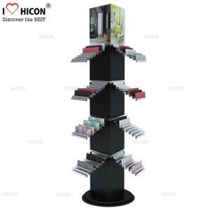China Spinner 4-way Ceramic Wall Tile Sample Display Rack Freestanding wholesale