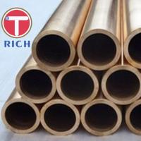 China Copper / Copper Alloy Condenser Seamless Steel Tube 10 - 80mm OD ASTM B111 wholesale