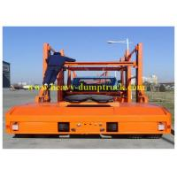 China 3 axles Hydraulic system car carrier truck trailer / Semi Car Hauler Trailer Enclosed on sale