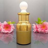 Supply free sample 20ml glass essential oil bottle with beautiful appearance