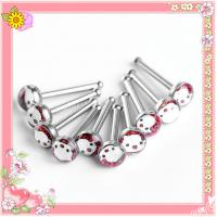 China Latest Stainless steel logo attractive design nose ring (WS554) wholesale