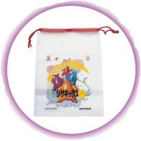 China Promotional Candy / Cookies / Chocolate Drawstring Plastic Bags With Cartoon Printing on sale