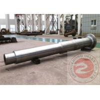 China Large Shaft Forged Spindle ASTM GB , Finish / Rough Machined Forging wholesale