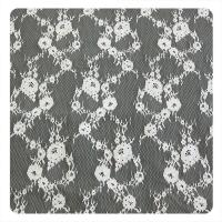 China 150 x 300 cm Chantilly Trim Lace , Upholstery Fabric For Evening Dress Or Lady Garment wholesale