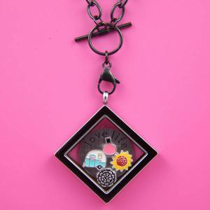 China 2014 Latest Floating Lockets Custume Jewelry Making Living Locket wholesale