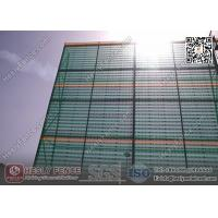 China 10M High X 4.5m Width Steel Wind Breaker Barrier Wall (China Wind Fence Factory) wholesale