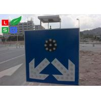 China Freestanding LED Solar Powered Sign Lights , Traffic Safety IP65 Commercial Solar Sign Lights wholesale