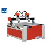 China Double Spindle Head Advertising CNC Router Equipment With Square Guide Rail wholesale