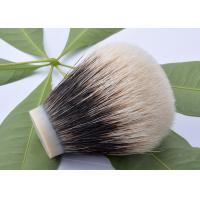 China DE popular white finest badger shaving brush knots bulb shape wholesale