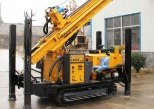 China Hydraulic 400m Depth Portable Borehole Water Well Drilling Rig Machine wholesale