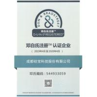 Chengdu Guibao Science & Technology Co., Ltd., Certifications