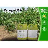 Quality Paraquat 20% SL Selective Herbicide  control of weeds and grasses Cas No.4685-14-7 for sale