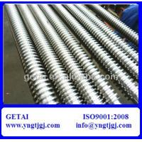 China DIN975 Galvanized Stainless Steel Threaded Rod M6-M36 of Grade 4.8-12.9 wholesale