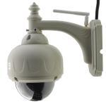 3x Optical Zoom outdoor dome camera Pan/tilt/zoom Onvif wifi 720P 1.0 MegaPixel