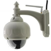 Buy cheap 3x Optical Zoom outdoor dome camera Pan/tilt/zoom Onvif wifi 720P 1.0 MegaPixel from wholesalers