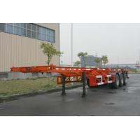 China Custom 40ft Skeletal ISO Container Semi Trailer Chassis HZZ9400TJZP wholesale