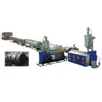China Water Supply PVC Pipe Extrusion Machine Conical Twin - Screw Extruder wholesale