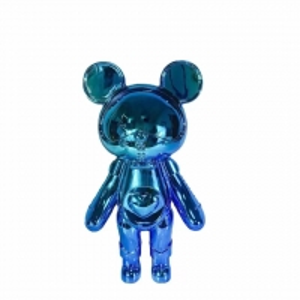 China Glass Fiber Electroplating Service , Cartoon Sculpture Electroplating Finishes wholesale