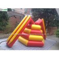 China  Airtight Ice Tower Inflatable Water Toys With Slide / Water Park Equipments  for sale