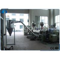 China PP PE Plastic Pellets Making Machine , Wood Plastic Compounding Granulating Line wholesale
