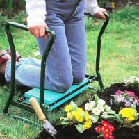 China Folding Garden Kneeler Seat , Portable Garden Kneeling Stool Convenient Function wholesale