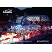 China 25 Meter Width Marquee Canopy Tent With Translucent Pvc Roof Cover wholesale