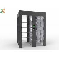China Single Lane Full Height Turnstile , Controlled Access Airport Turnstile Security Solutions wholesale