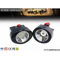 China GL2.5-C Safety LED Mining Cap Lights 2.8AH 6000 Lux 230mA Cordless Style IP67 wholesale