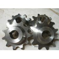 China Precise Conveyor Chain Sprocket , Forged Stainless Steel Roller Chain Sprockets wholesale