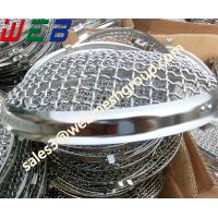 Buy cheap Woven Crimped Wire Mesh Car Lamp Cover from wholesalers