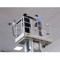 Self Propelled Work Platform 300kg Capacity , 12m Indoor Scissor Lift Platform