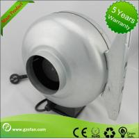 China galvanised Sheet Steel Circular Inline Fan Insulation Class F The Wood Shop wholesale