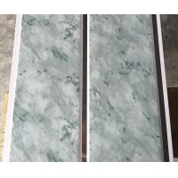 China 25cm Middle Groove Printing Ceiling PVC Panels Easy Install / Cleaning wholesale