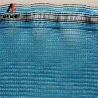 Quality Fire-Retardant Construction Safety Netting Barrier Nets , Orange Debris Netting with Reinforced Border for sale