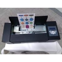 China A4 Size Paper Sticker Cutter Auto Feeding System For Food/Wine Labels Making wholesale