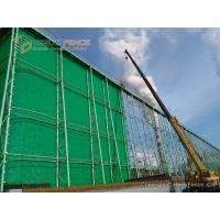 Buy cheap Polyester Fibre Wind Fence for Petroleum Coke Dust Control, 450g/m2, China from wholesalers