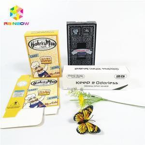 China Glossy shiny OEM design logo printed paper card box gift cosmetics eyelash packaging card boxes wholesale