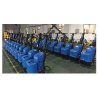 China Blue Terrazzo Floor Grinding Machines For Vacuum Cleaner Wet And Dry Grinding wholesale