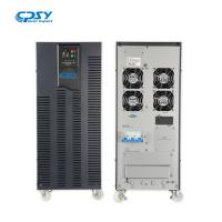 China Three phase in one phase out ups 15kva online ups price backup 30mins for CCTV system wholesale