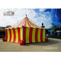 China 8m Circus Tent and  High Peak Tents with  Color  Cover For Horse Event wholesale