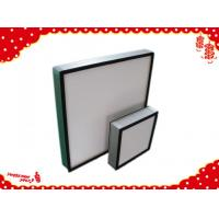 China Aluminum frame glassfiber deep-pleated Hepa filter for ventilation system wholesale