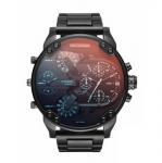 China New DIESEL DZ7395 MR. DADDY 2.0 Black IP Stainless Steel Men's Watch 57mm wholesale