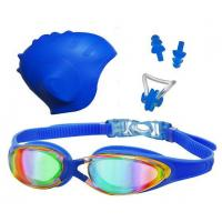 China Anti-UV Adult Swim Goggles, Anti-leakage Swimming Goggles for Men and Women wholesale