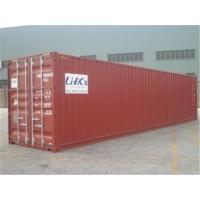 China 2nd Hand Steel High Cube Shipping Container / 45 Hc Container wholesale