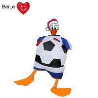 China World Cup 0.23mmPVC material inflatable football team suit costume wholesale