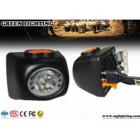 China 300mA Digital 4.5Ah Cordless Cap Lamp , Anti-Explosive Miners Cap Lamps Cordless  wholesale