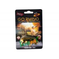 China GoRHINO Herbal Male Enhancement CapsulesFor Preventing Erectile Dysfunction wholesale