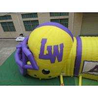 China inflatable football helmet entrance inflatable tunnel for sale wholesale