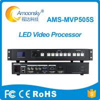China AMS-MVP505S LED Screen Video Controller LED Rental Wall Screen HD External SDI Video Processor Scaler Support linsn on sale
