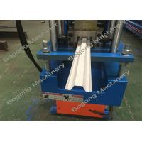 China Steel Keel Small Sheet Metal Roller , Metal Furring Channel Roll Forming Machine on sale